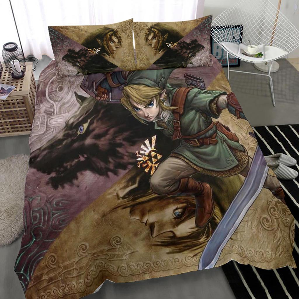 Legend Of Zelda Bedding Set 03 Zelda Lover Zelda Gifts Meaning Gift